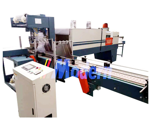 Automatic wrap packing machine