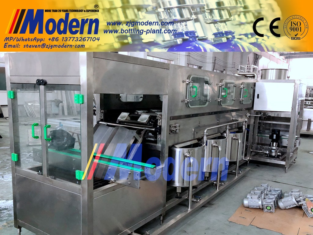 Pure Bucket Water Filling Machine