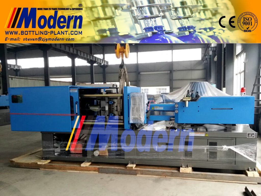 Bottle-preform-injection-machine