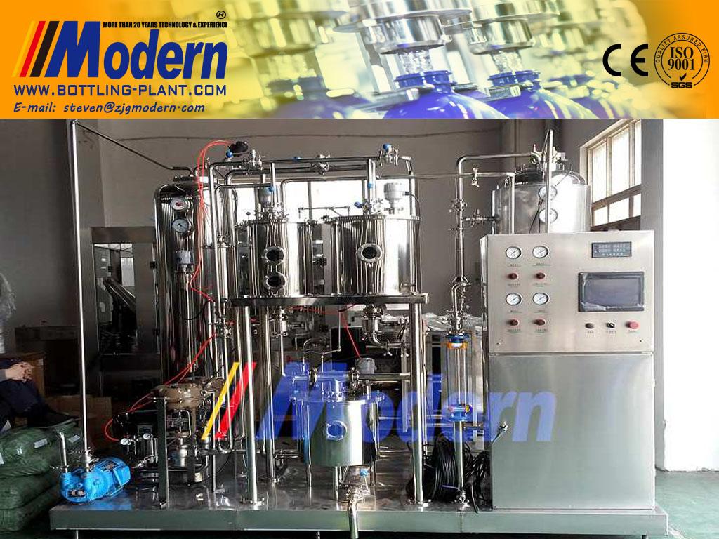 soft-drink-carbonation-machine
