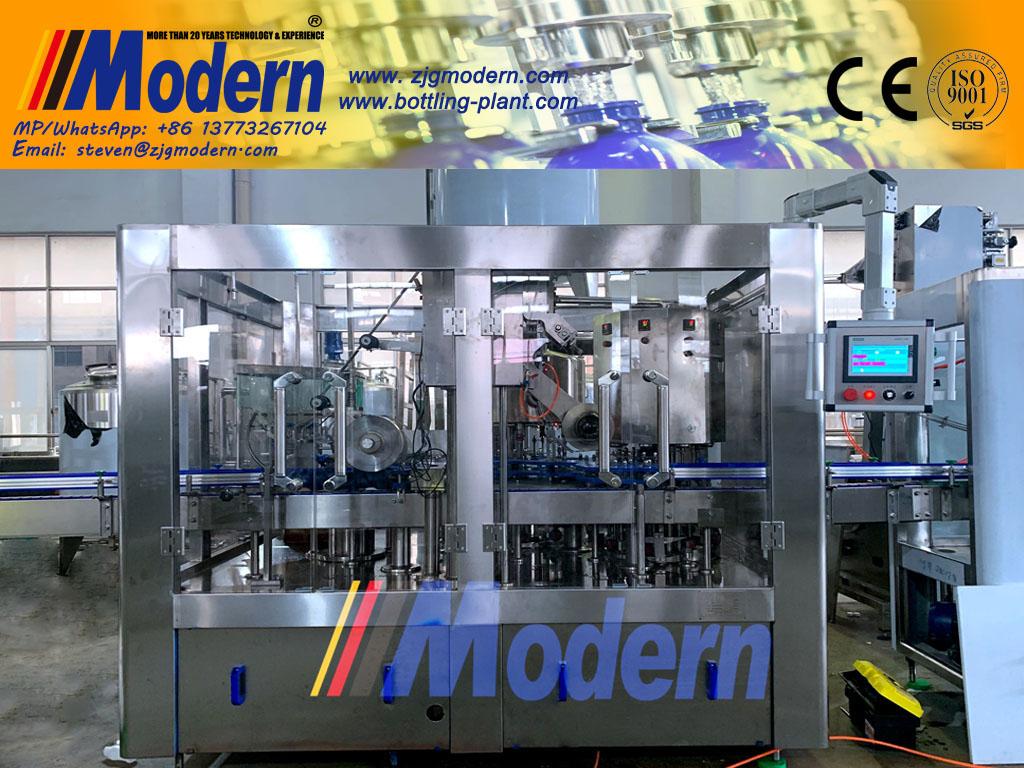 PP Bottle Filling And Aluminum Foil Sealing Machine for Milk