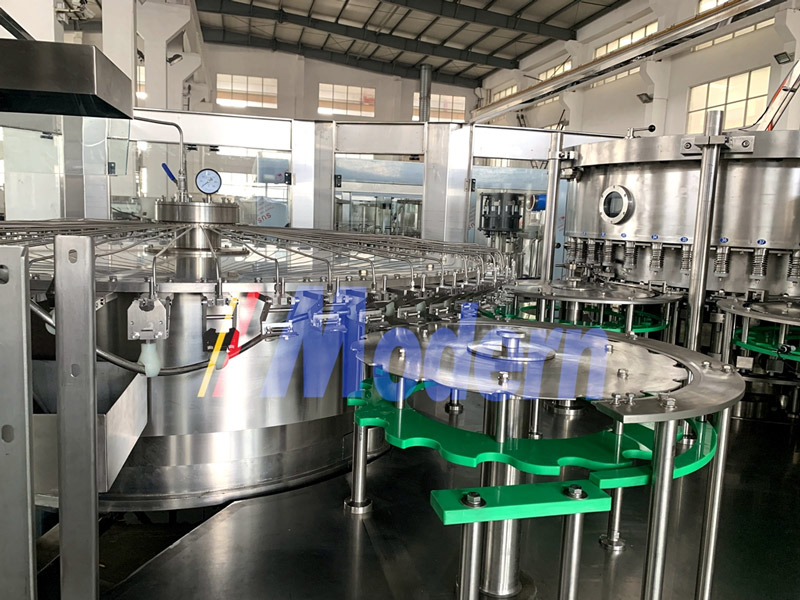 Bottled Pure Water Filling Machine