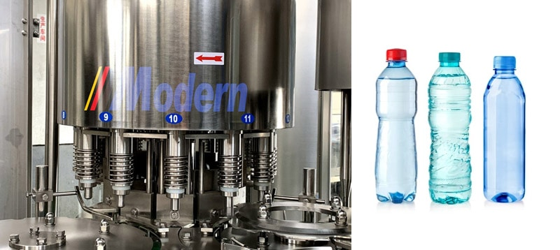 Small Scale Water Bottling Machine