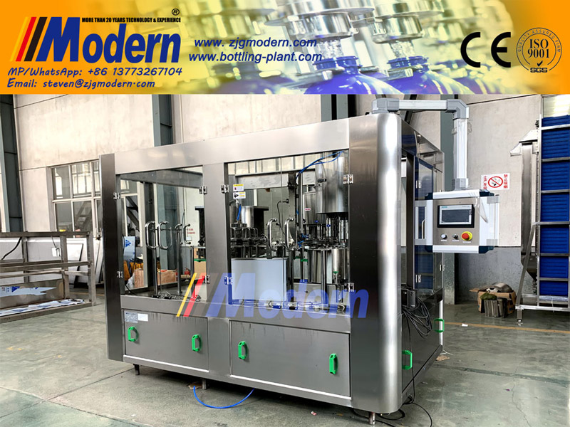 Automatic Water Bottle Filling System