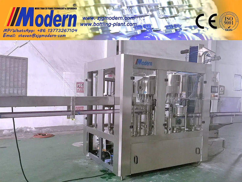 Rotary Mineral Water Filling Machine