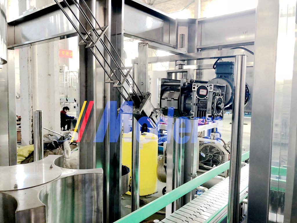 Barreled Bottle Water Line